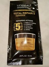26 L'Oreal Total Repair 5 Damage Erasing Balm Conditioning Hair Treatments .34oz