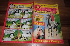 CONNY  # 330 -- MÄDCHEN - PFERDE - ABENTEUER  // mit Poster 1. Auflage 1.1.1986