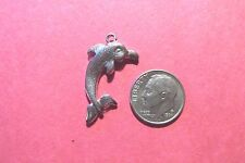 18  Pewter Dolphin  Charms