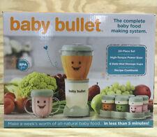 NEW Magic Bullet Baby Bullet Baby Food Maker Kitchen Blender 20-Piece Set