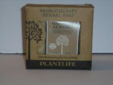 Plantlife Aromatherapy Herbal Soap Oatmeal Almond 4 oz / 113g