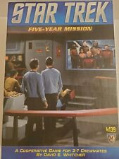Star Trek Five 5 Year Mission Board Game - Complete 43109