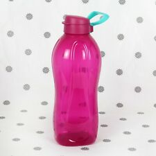 NEW Tupperware 2L Eco Drink Bottle Purple with Handle
