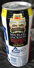 Michael Jackson Canette pleine PEPSI DANGEROUS TOUR Full Can JAPAN PROMO 1992
