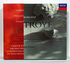 CHARLES DUTOIT, FRANCOISE POLLET - BERLIOZ Les Troyens DECCA 4xCDs NM