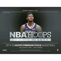 2019-20 PANINI HOOPS PREMIUM STOCK BASKETBALL FACTORY SEALED HOBBY BOX Hybrid