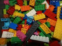 Lot of 50 Lego DUPLO Bricks slopes Building Blocks READ DESCRIPTION