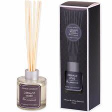 LUXURY BLACK POMEGRANATE REED DIFFUSER Aromatic Perfume Oil Stick Home Fragrance