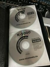 33 Sample CD Roms Discs Akai Format For Your Sampler