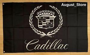 Cadillac Logo 3x5 ft Flag Car Garage Banner