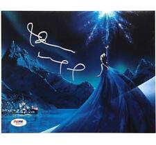 IDINA MENZEL voice of Queen Elsa FROZEN signed 8x10 photo ~ PSA/DNA Witness COA
