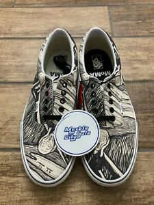 Vans Era MoMA Edvard Munch The Scream VN0A4BV41UB Men's Size 11.5