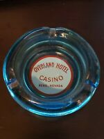 Overland Hotel & Casino Reno Nevada Vintage Ashtray  - Las Vegas