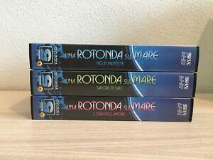 Una Rotonda Sul Mare _ Lotto 3 X VHS Pal _ 1990 Video Canale 5