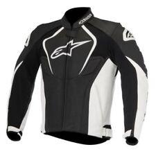 Giacche in pelle con zip completa per motociclista taglia M
