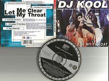 DJ KOOL w/ FUNKMASTER FLEX Let me Clear my Throat 5TRX REMIXES & EDIT CD single