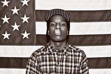 A$AP ROCKY Flag 24 x 36 LARGE Rap/Hip-Hop ASAP ROCKY A$AP MOB Poster