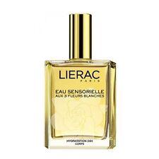 Lierac Paris EAU SENSORIELLE AUX 3 FLEURS BLANCHES 24HR HYDRATION 3.4 Oz