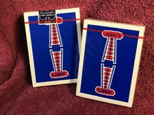 "Jerry's Nugget ""vintage feel"" BLUE 2019 reissue playing cards"