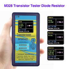 M328 Transistor Tester Diode Resistor Capacitance Meter ESR Instrument LCR Tool