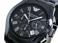 Emporio Armani AR1400 Classic Ceramic Chronograph Men's Analogue Watch