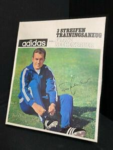 Conf. Orig. IN Cartone - adidas 3 Strisce Tuta Franz Beckenbauer Full Set Rara