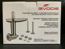 Food Grinder Attachment for KitchenAid Stand Mixers Including Sausage Stuffer