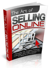 The Art of Selling Online - Pdf Ebook With Resell Rights + Free Shipping