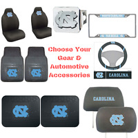 NCAANorth Carolina Tar Heels Choose Your Gear Auto Accessories Official Licensed