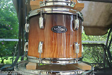 "PEARL VISION 12"" RACK TOM AMBER FADE EUCALYPTUS fr YOUR ARTISAN II DRUM SET J349"