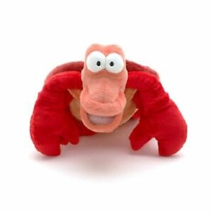 Disney Little Mermaid Ariel Sebastian Crab Small Soft Plush Stuffed Toy 20 cm