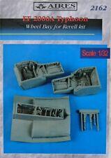 Aires 1/32 EF-2000A Typhon Roue Compartiments pour Revell kit # 2162