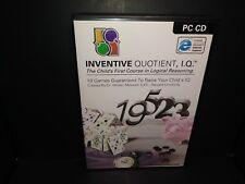 Inventive Quotient,I.Q. Child Logical Reasoning 10 Games to Raise Child's I.Q. P