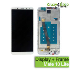 DISPLAY LCD + SCHERMO TOUCH SCREEN +FRAME HUAWEI MATE 10 LITE WHITE BIANCO