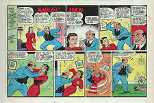 Smilin' Jack by Zack Mosley - half-tab color Sunday comic page - Dec. 23, 1945