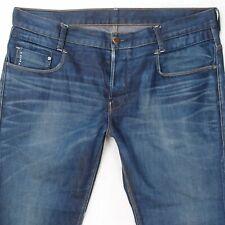 Mens G-Star NEW RADAR LOW LOOSE Straight Blue Jeans W40 L32