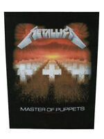 Metallica Patch Master of Puppets Back Black 29.5x36cm
