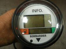 01 SEADOO GTX DI LCD MULTI FUNCTION INFO GAUGE 278001559