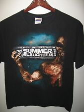 Summer Slaughter Tour Heavy Metal Rock 2010 Concert Tour Decapitated T Shirt Lrg