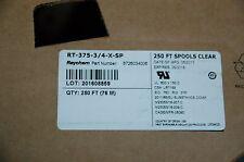 raychem M23053/18-207-C  heat shrink tube RT-375- 3/4-X-SP Free shipping 5 m