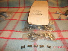 ( 25 ) NEW BRIDGE CLIPS FOR BRIDGING 66M150 BLOCK, RJ21,ETC.  NEW BAG OF 25 CLIP