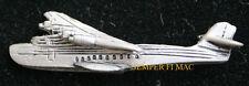 CHINA CLIPPER PEWTER HAT PIN Pan American Airways Martin M-130 calling Alameda
