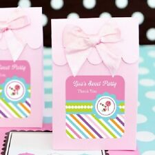 24 Sweet Shoppe Party Personalized Candy Boxes Bags Birthday Party Favors