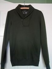 "NEW LOOK MENS KHAKI GREEN SWEATSHIRT SIZE XS 36"" CHEST"