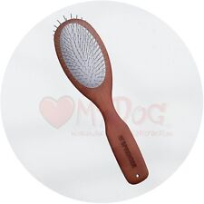 Herm Sprenger Pear Wood Grooming Brush 20mm Pin