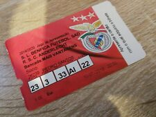 Ticket Benfica Anderlecht Amical Belgique 2019