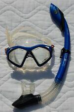 AquaLung Sport Scuba Snorkeling Mask Snorkel Water Sports Gear Package Set