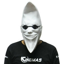 Magic Mr. Moon Latex Mask Halloween Costume Party Prop Full Head Fancy Dress