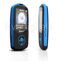 NEW BLUE RUIZU 4GB BLUETOOTH SPORTS LOSSLESS MP3 MP4 PLAYER MUSIC VIDEO FM TUNER
