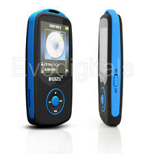 Nuevo Azul ruizu 4GB Bluetooth Deportes Lossless MP3 reproductor de MP4 Video Musical FM Sintonizador
